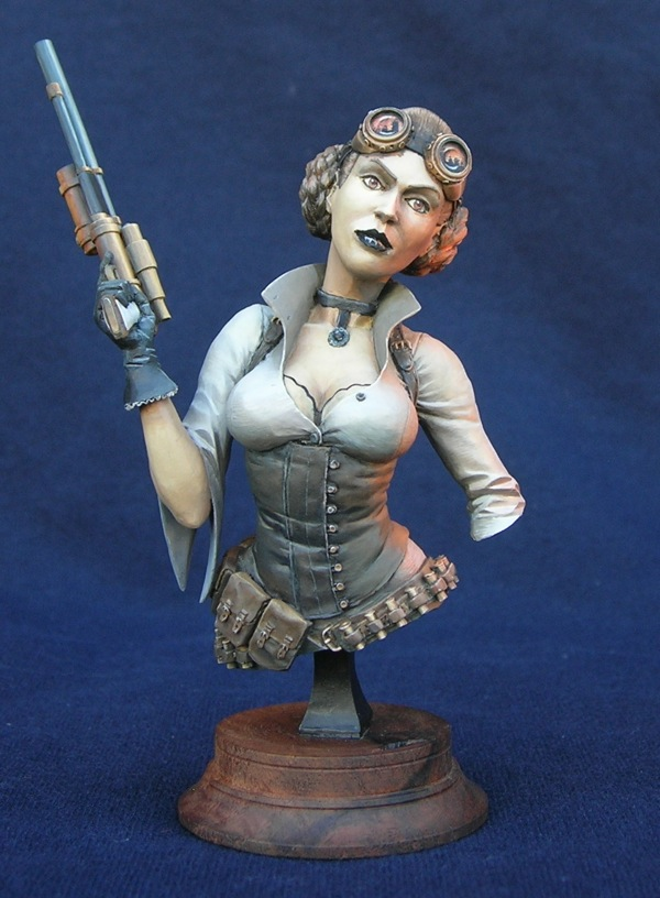Steampunk Leia WIP 2 - front